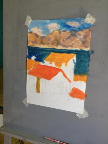 Мастер-класс по живописи 6 июня