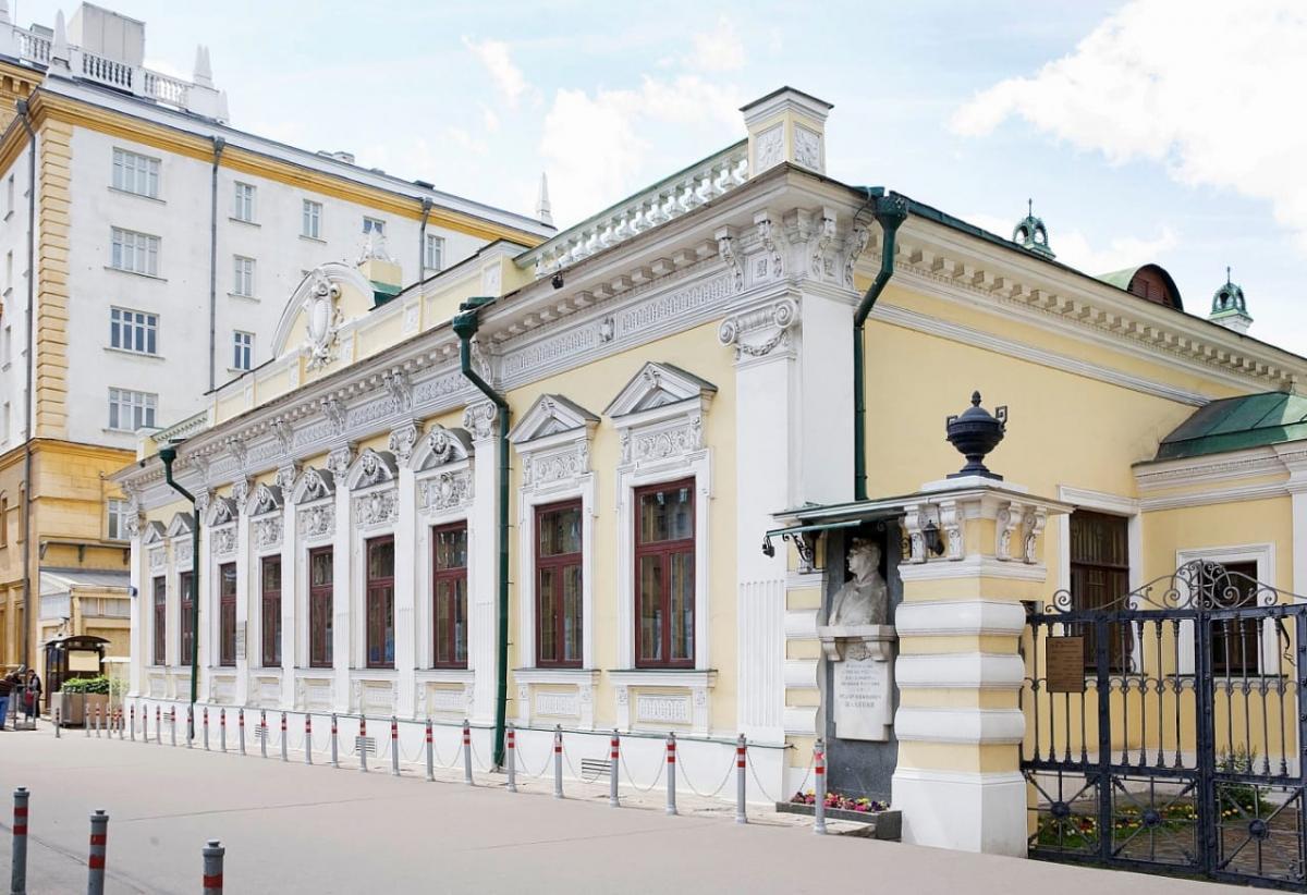 Выставка в доме-музее Шаляпина
