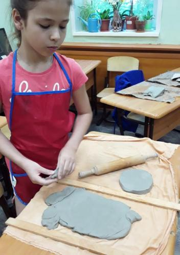 Мастер-класс по скульптуре 8 июня