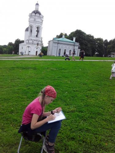 Пленэр в Коломенском